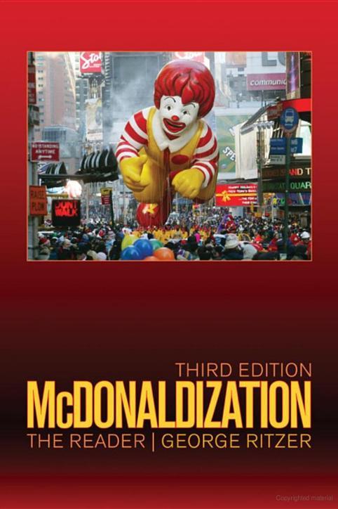 The McDonaldization Thesis: